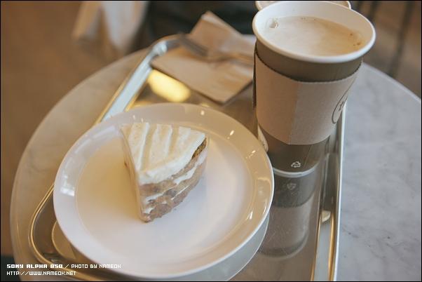 카페오레, 스패니쉬 라떼 그리고 당근 케익