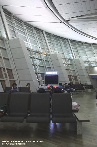새벽 다섯시, 혼수상태의 공항