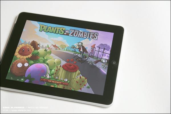 역시 아이패드에선 Plant vs Zombies HD