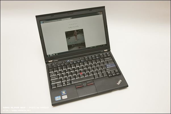 얼마 전, 미국 레노버에 X220 의 최상위 모델을 CTO 로 주문했다