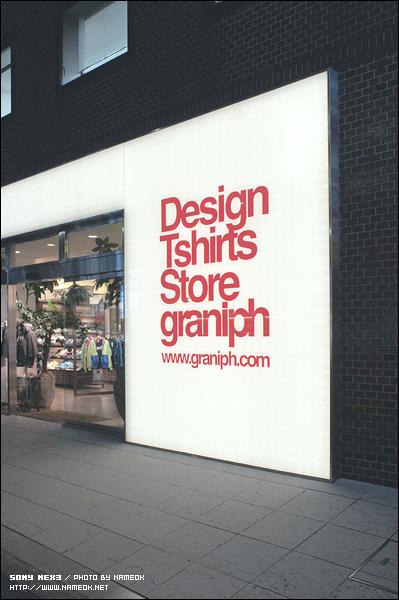 Design Tshirts Store Graniph Shibuya