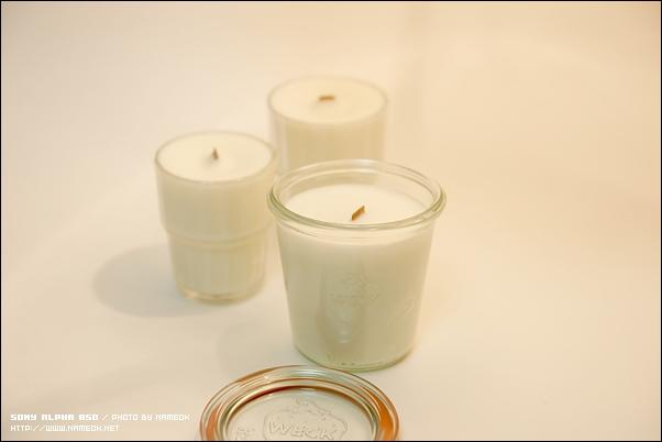 Weck jar 라는 것을 실제로는 처음 봤는데, 참 예쁜 용기인듯-