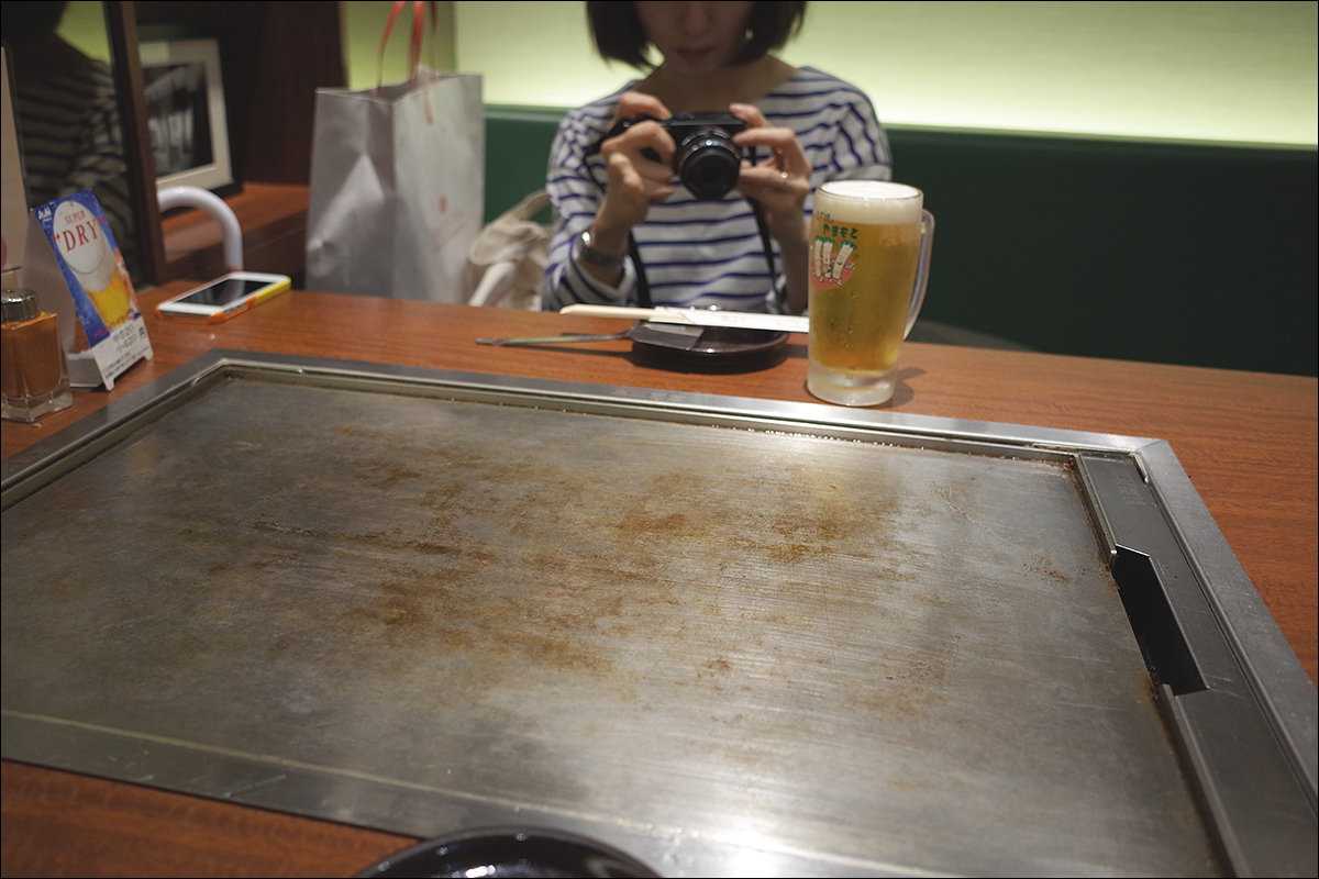 이 날은 테이블에 앉음- 징징은 나마비루-