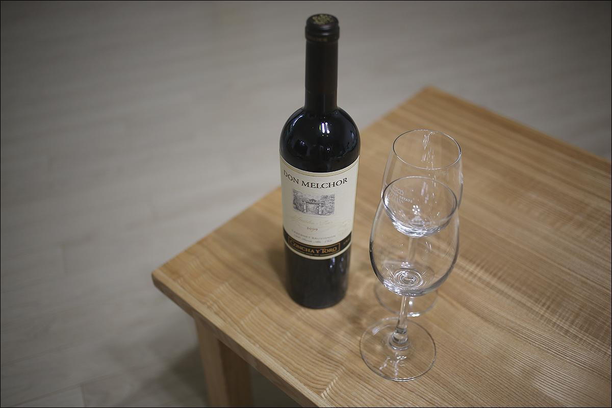 아끼고 아껴두었던 와인을...